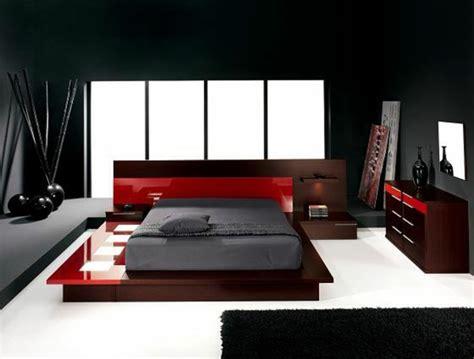 chambre a coucher style contemporain le mobilier de design contemporain archzine fr
