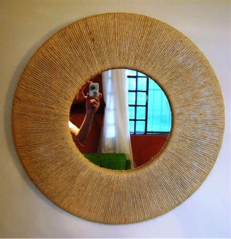 decoration ideas  mirrors upcycle art