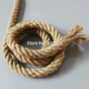 Brand New Hemp Rope Electrical Wire For Hemp Rope Wall