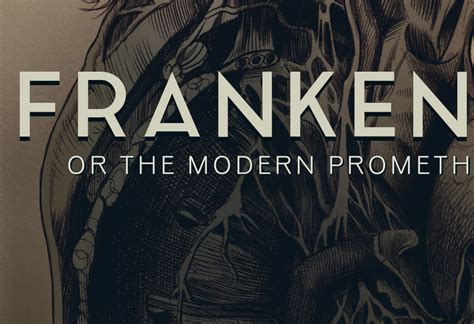 frankenstein or the modern prometheus on behance