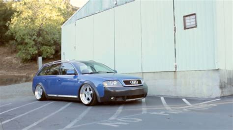 Stanced Audi C5 Allroad  Fast Car