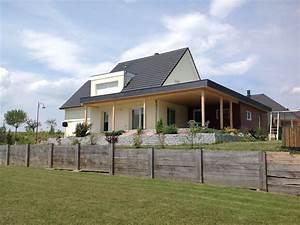 Maison Ossature Bois Avec Toiture Plate Segu Maison