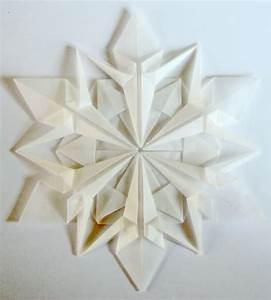 Origami  Et Sekskantet Snefnug