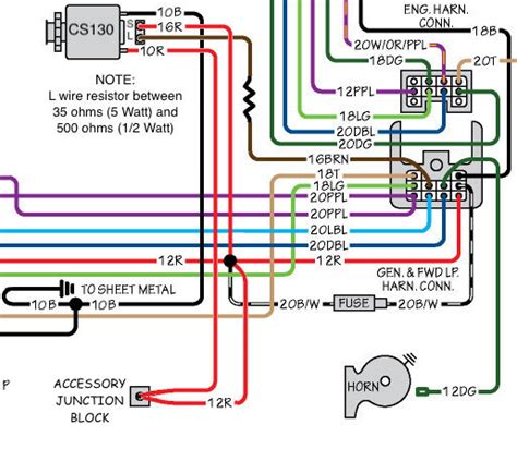 Color Wiring Diagram Finished The 1947 Present Chevrolet Gmc by Color Wiring Diagram Finished Page 13 The 1947