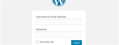 Hide The Wordpress Login Url