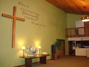 Wall decor for small area church