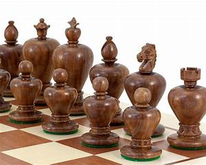Apple, Design, Sheesham, Carved, Chess, Pieces, 3, 5, Inches, Rcp110, -, U00a380, 95