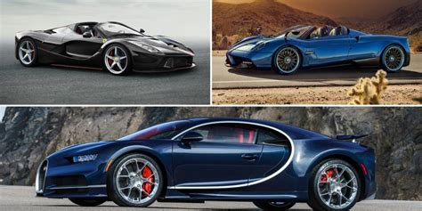 The 10 Most Expensive New Cars In The World