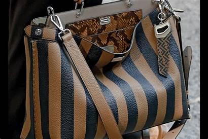 Fendi Bags Stripes East