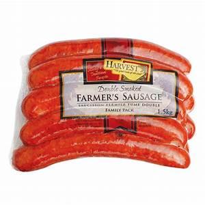 harvest farmers sausage cooking farmer foto