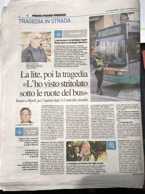La Nazione Firenze Sede by La Nazione Studi Legali Sv