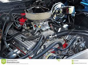 High Powered 350 Engine Stock Image  Image Of Collectors