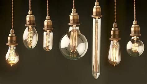 vintage edison light bulb range