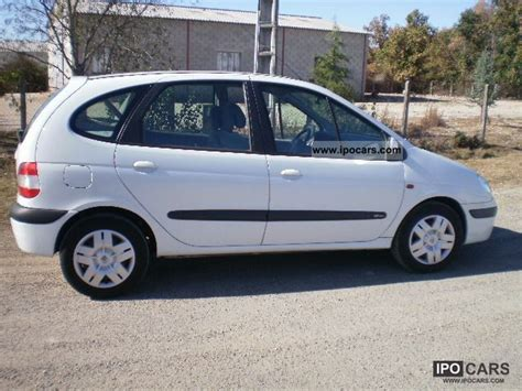 renault scenic 2002 specifications 2002 renault scénic 1 6i 16v car photo and specs