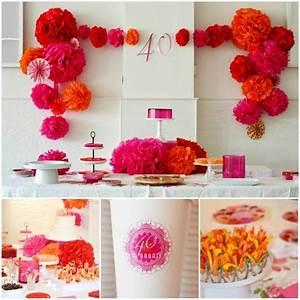 Fiestas de Cumpleaños para adultos Ideas para la decoración de fiestas de cumpleaños de