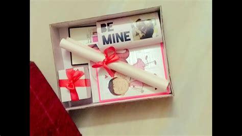 lockdown diy valentine week gift ideas  boyfriend