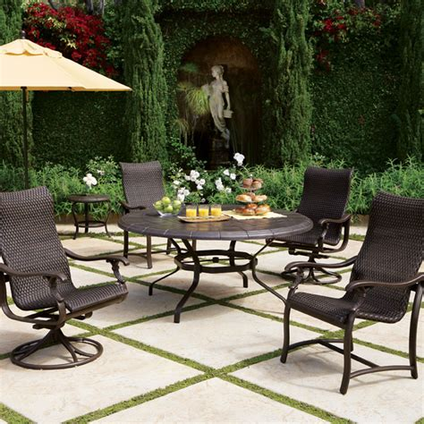 ravello outdoor furniture by tropitone stylish sturdy