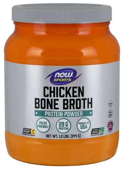 Bone Broth, Chicken Powder | NOW Foods