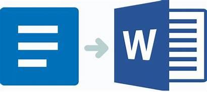 Docs Word Microsoft Google Conversion