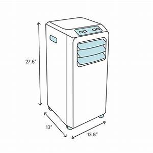 Whirlpool 10 000 Btu Portable Air Conditioner With Remote