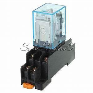 New 12v Dc Coil Power Relay Ly2nj Dpdt 8 Pin Hh62p Jqx