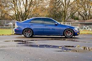 2002 Lexus Is300 Manual Trans On 18x8 5  30 Volk Te37s