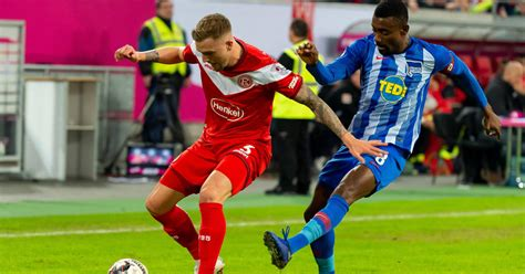 You could check the h2h stats based on fortuna düsseldorf home ground. Fortuna Düsseldorf vs. Hertha BSC   TV, Übertragung, Live-Stream & Team-News   german_site