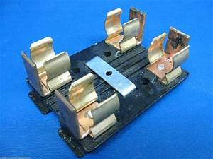 Wadsworth 60 Amp Main Fuse Panel Pull Out Fuse Holder Main