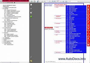 Nissan Cabstar F24 Series Service Manual Repair Manual Order  U0026 Download