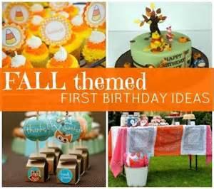 creative 1st birthday party ideas baby digezt fall themed birthday party baby ideas