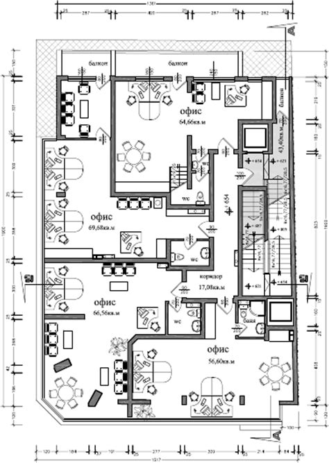 plan des bureaux atelier d 39 architecture immeuble dondoukov sofia 5ko fr