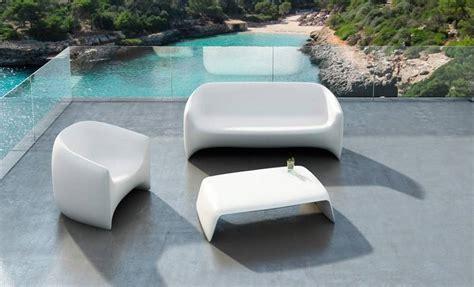 ethnicraft canapé canapé et fauteuil extérieur en polypropylène vondom
