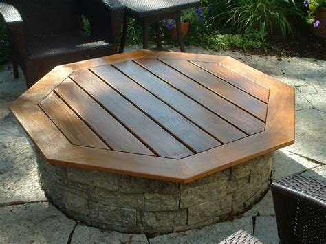 25 best ideas about pit table on outdoor