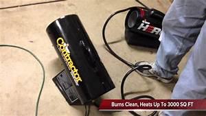 Mr  Heater 125 000 Btu Portable Propane Forced Air Heater Mh125fav
