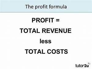 Calculating and Interpreting Profit