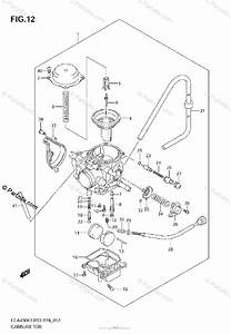 Suzuki Atv 2003 Oem Parts Diagram For Carburetor