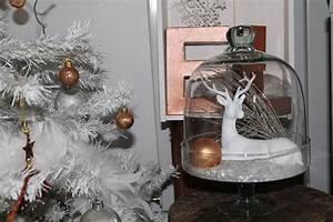 Deco Noel Blanc : d coration no l blanc cuivre by secrets d co d coratrice essonne paris 1 d coration et ~ Teatrodelosmanantiales.com Idées de Décoration