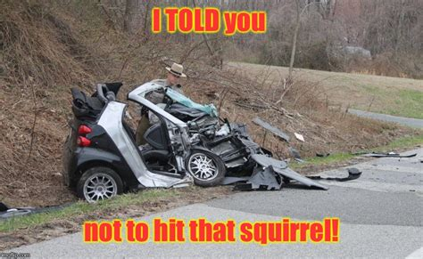 Car Accident Memes - smart car accident imgflip