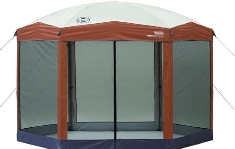 coleman screened canopy tent  instant setup screen