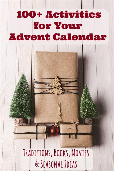 christmas advent calendar activities  printable