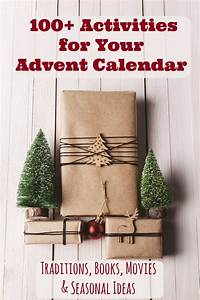 Printable Week Calender 100 Christmas Advent Calendar Activities With Printable