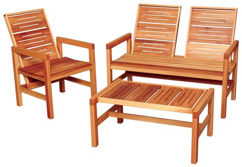 Wood Furniture by Outdoor Wood Furniture From Creative Woodwork