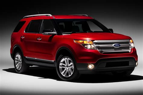 cars ford explorer 2011 ford explorer suv revealed gets 290hp 3 5 liter v6