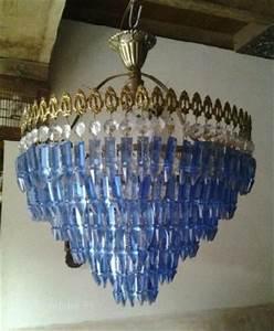 Lustre à Pampilles : ancien lustre laiton clasf ~ Teatrodelosmanantiales.com Idées de Décoration
