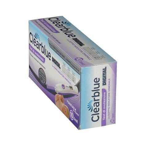 test ovulazione clearblue prezzo farmacia clearblue 174 digital test di ovulazione avanzato shop