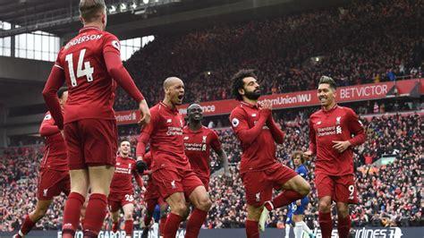 liverpool  chelsea highlights mohamed salah scores goal