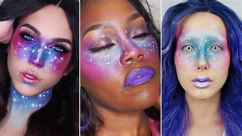 heres    galaxy makeup  halloween allure