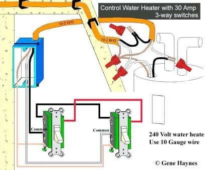 Water Heater 220 Volt Wiring Diagram by What Wire Do I Need 220 Volts Practical How To Wire