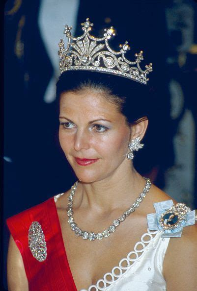 Stockholm Silvia Queen of Sweden the wife of King Carl XVI ...