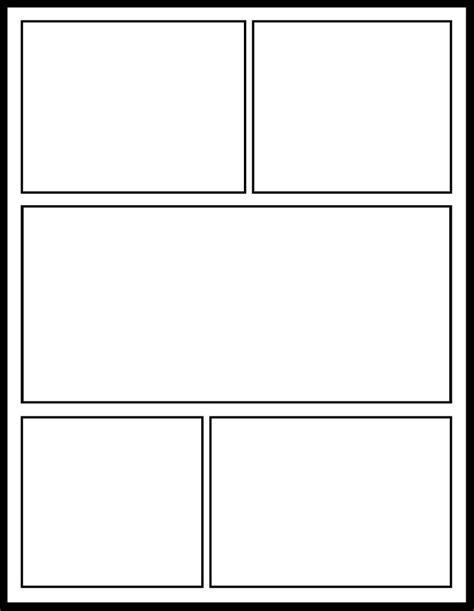 Comic Template Printable Vastuuonminun